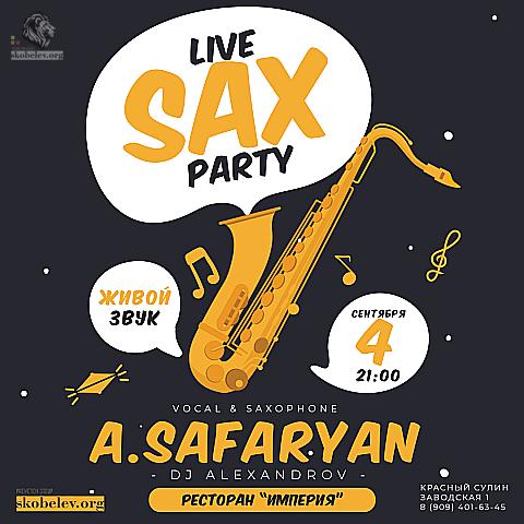 Live SAX Party